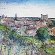 Toledo Spain 2016 Art Print