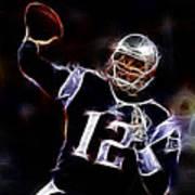 Tom Brady - New England Patriots Art Print