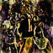 Tom Brady Under Pressure 03c Art Print