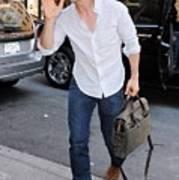 Tom Cruise Carrying A Filson Bag Art Print by Everett