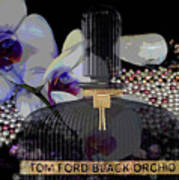 Tom Ford Black Orchid Art Print