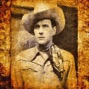 Tom Tyler, Vintage Western Actor Art Print