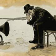 Tom Waits Art Print by Sean King
