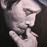Tom Waits Two Art Print