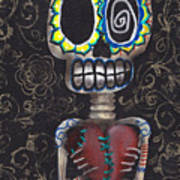 Toma Mi Corazon Art Print