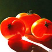 Tomayta Tomato Art Print