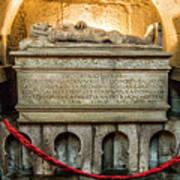 Tomb Of Dom Henrique Art Print