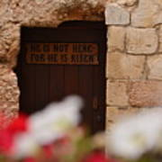 Tomb Of Jesus Art Print