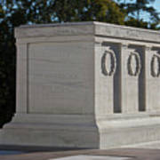 Tomb Of The Unknown Soldier, Arlington Art Print by Terry Moore