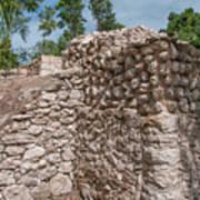 Tombs At Oxtankah Art Print