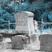 Tombstone Amiss Art Print