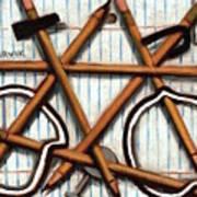 Tommervik Pencil Bike Art Print Art Print