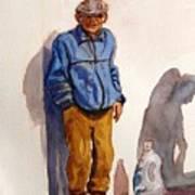 Tommy From Naxxar Art Print