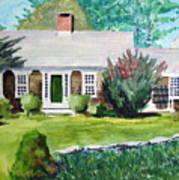 Toms House Art Print