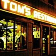 Tom's Restaurant Art Print