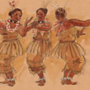 Tonga Dance From Niuafo'ou Art Print