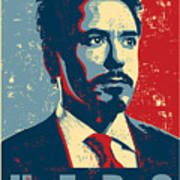 Tony Stark Art Print by Caio Caldas