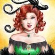 Tonya Art Print by Scarlett Royal