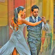 Too Tango Art Print