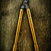 Tools On Wood 34 Art Print