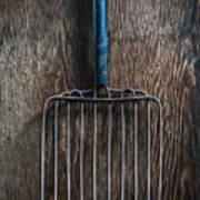 Tools On Wood 66 Art Print
