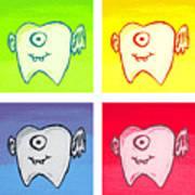 Tooth Fairies Art Print by Jera Sky