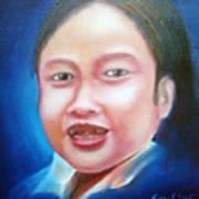 Toothless Girl Art Print