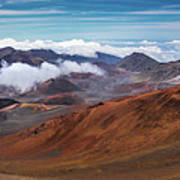 Top Of Haleakala Crater Art Print
