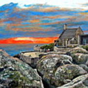 Top Of Table Mountain Art Print