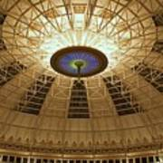 Top Of The Dome Print by Sandy Keeton