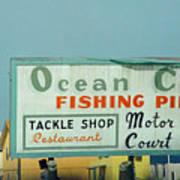 Topsail Island Ocean City 1996 Art Print