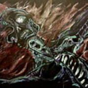 Tormented Soul Art Print