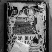 Torn Posters Rome Italy Art Print