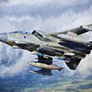 Tornado Gr4 - 2 Art Print