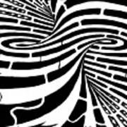 Tornado Maze Art Print