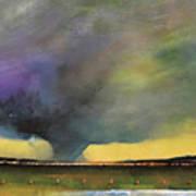 Tornado Warning Art Print