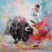 Toro Tempest Art Print