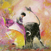 Toro Tenderness Art Print
