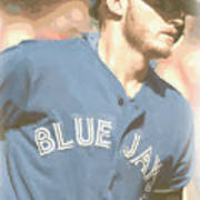 Toronto Blue Jays Josh Donaldson 4 Art Print