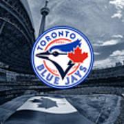 Toronto Blue Jays Mlb Baseball Art Print