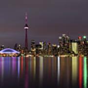 Toronto Lights Art Print