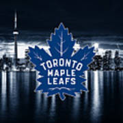 Toronto Maple Leafs Nhl Hockey Art Print