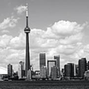 Toronto Skyline 11 Art Print