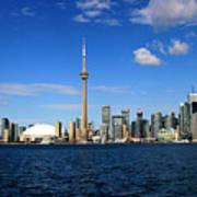 Toronto Skyline 26 Art Print