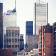 Toronto - Skyline Art Print