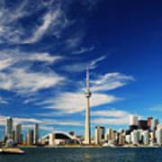 Toronto Skyline Art Print