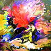 Toroscape 06 Art Print