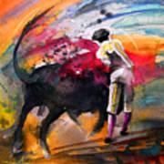Toroscape 53 Art Print by Miki De Goodaboom