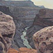 Toroweap Overlook Grand Canyon North Rim Art Print