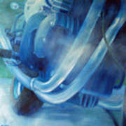 Torque Triple - Triumph Thunderbird Sport Art Print